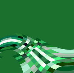 fondo geometrico verde