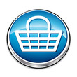 Blue handle shopping basket button