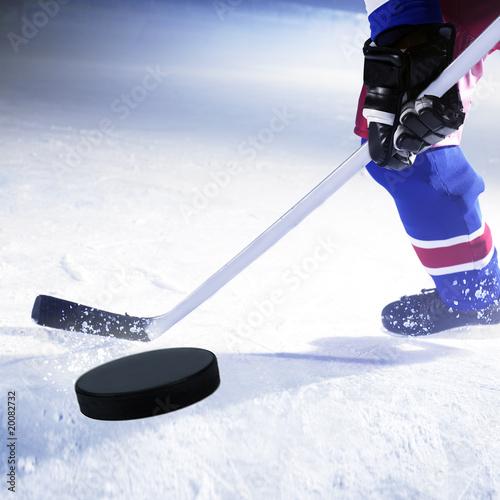 Foto eishockey spieler