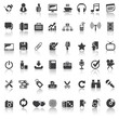 48 icons set 1 business & entertainment