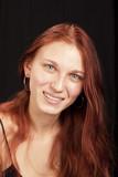vibrant redhead teen poster