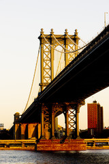 Manhattan Bridge, New York City, USA