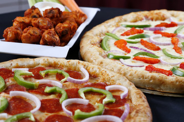 pizza and wings deal