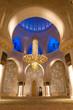 Sheikh zayed mosque in Abu Dhabi, UAE, Interior