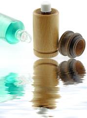 huiles essentielles, massage, hammam, sauna, fond blanc