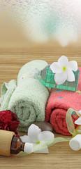 ambiance relaxation, spa, massage, fond blanc