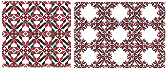 texture embroider ukrainian embroider