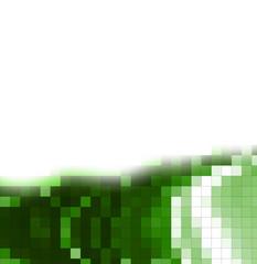 fondo pixelado verde y blanco