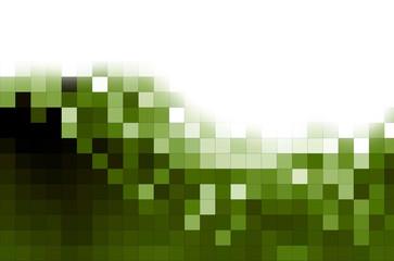 fondo mosaicos verdes