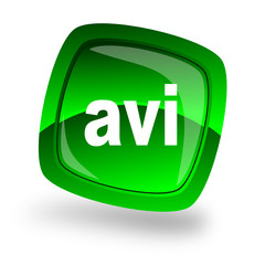 avi web button