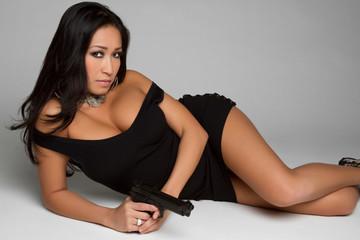 Chinese Gun Woman