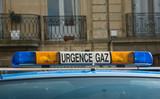 urgence gaz poster