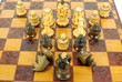 chess white king attack