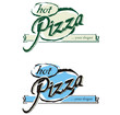 pizza logo, logotype, pizzeria