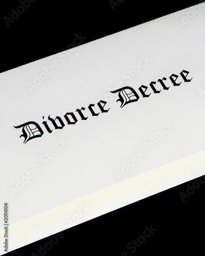 Divorce decree documentation