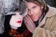 Ehepaar m Winter