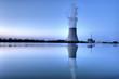 Leinwanddruck Bild - Kernkraftwerk