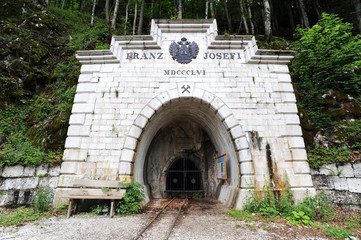 Entrance to the mine, Hallstatt