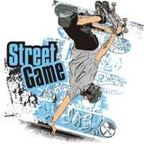 Fototapety Street game