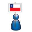 Pancarta Chile