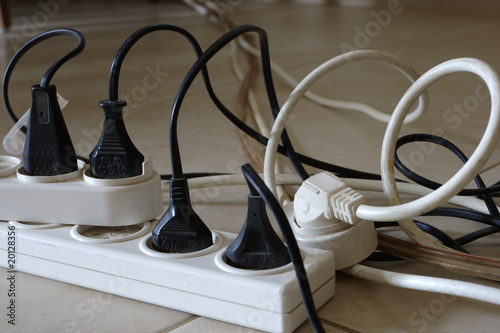 Electrical socket extenders with extension cables