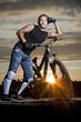 mountain biker #2