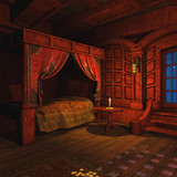 Pirate Captains Cabin poster