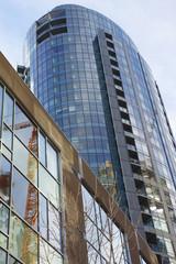 New high rises apartments Portland Oregon.