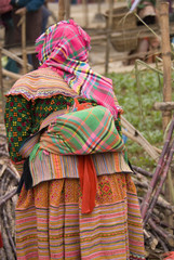 Vietnamese woman in Sapa