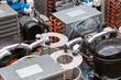 Leinwandbild Motiv Motore frigo