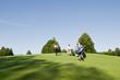 Golfspieler auf dem Fairway