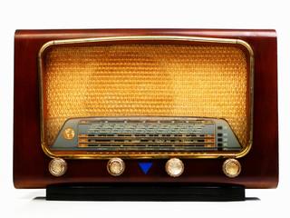 vieux poste de radio des années 50
