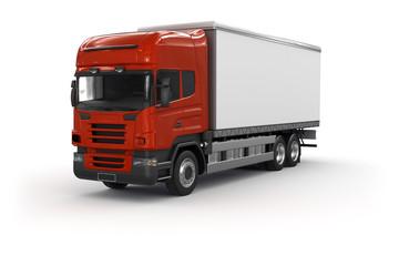 Lastwagen - Werbefläche