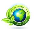 concept planète terre écologie - orientation europe -