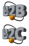 b2b b2c poster