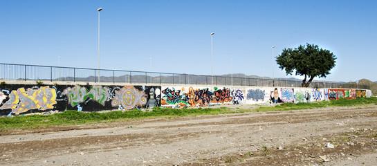 Graffiti Wall Spain