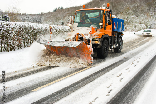 Schneeräumen - 20150525