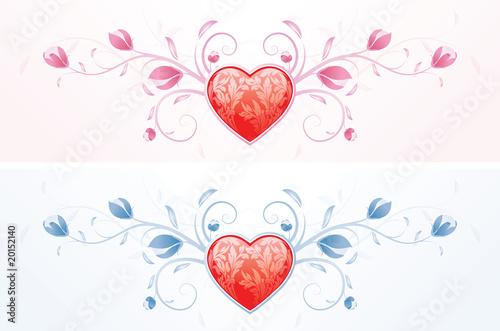 Floral Valentines