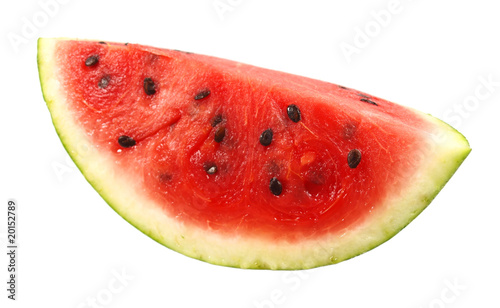 Watermellon isolated on white