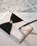 Wedding or event guest book and pen poster
