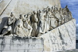 Detail of Monument to the Discoveries in Belem - Lisbon poster