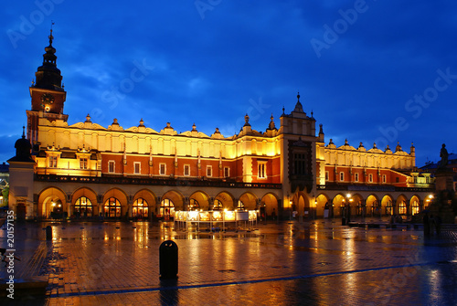 evening in Cracow 3