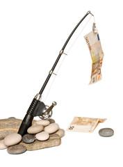 Pescare i soldi