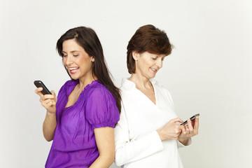 lachen beim smsen