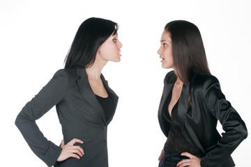 two women differing