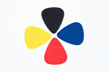 Colored Guitar Picks