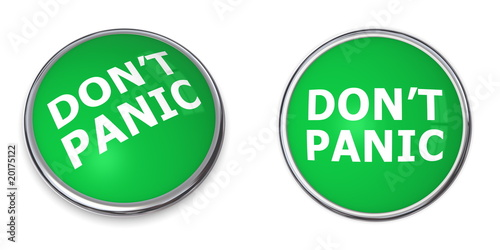 Green Don't Panic Button