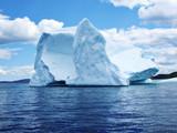 Iceberg in Atlantic Ocean off Newfoundland poster