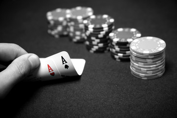 Poker - Coppia d'Assi