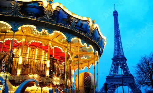 Zdjęcia na płótnie, fototapety, obrazy : carousel